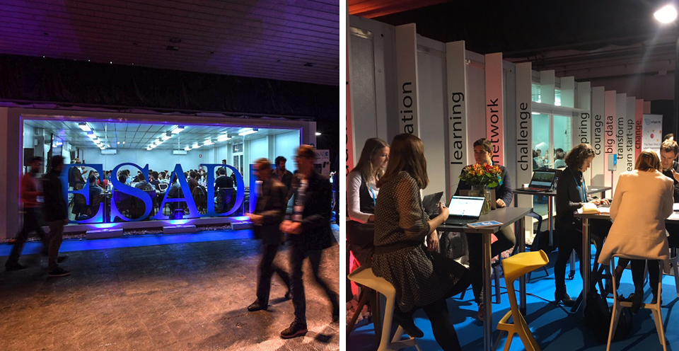 ESADE 4YFN Event and Stand production in Spain, Barcxelona and Madrid
